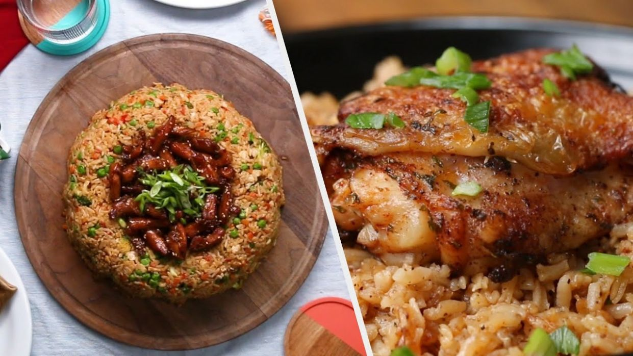 10 Rice Recipes To Fill You Up For Dinner - Rice Recipes Youtube