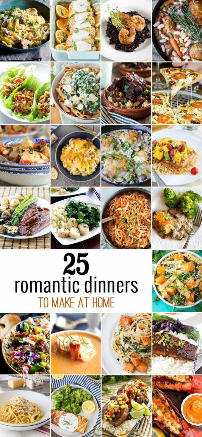 10 Romantic Dinners to Make at Home | Romantic dinner recipes ..