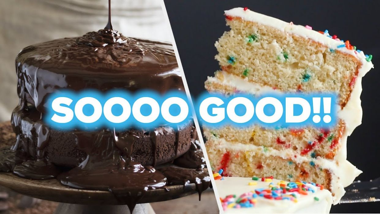 10 Sinfully Delicious Cake Recipes • Tasty