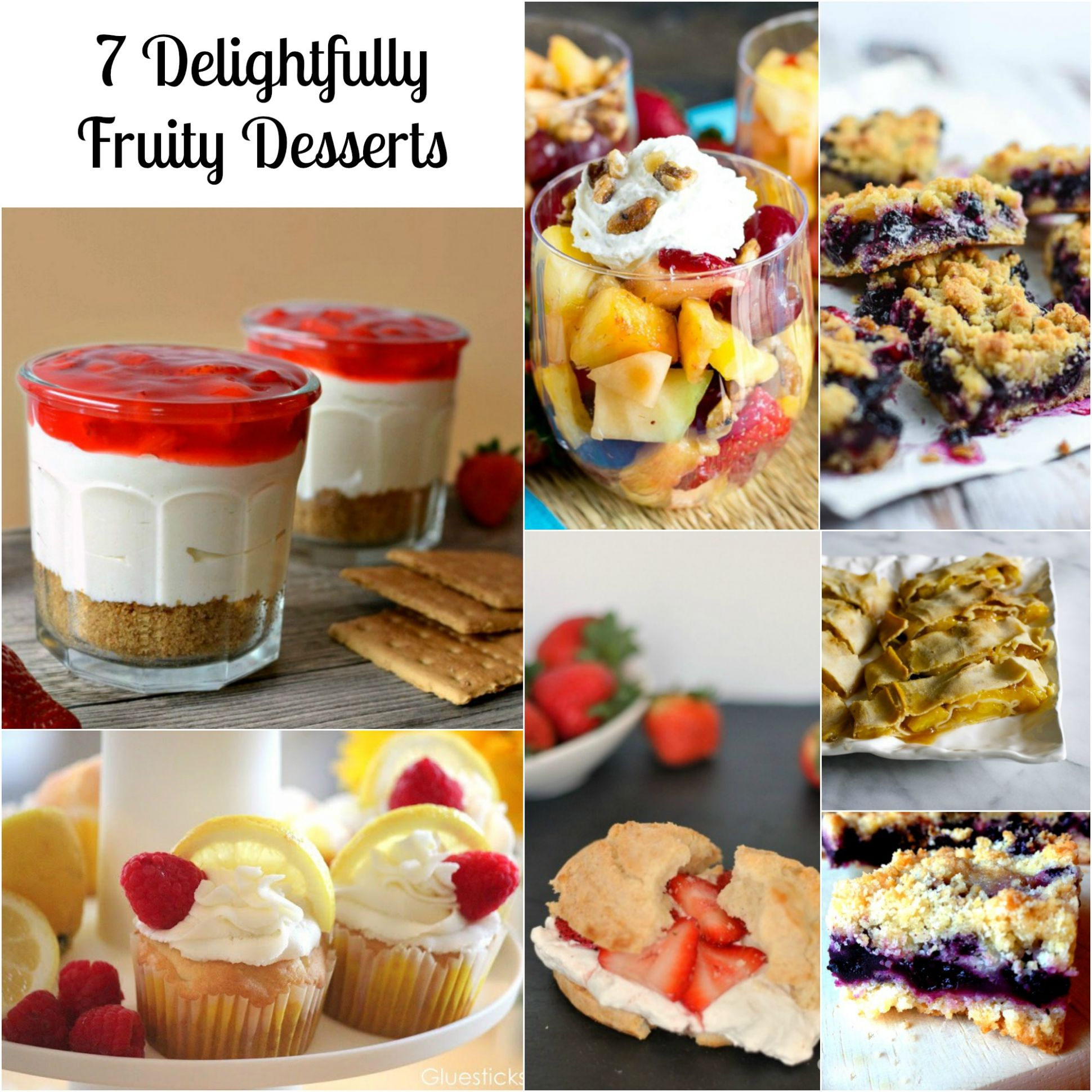 10 Summer Dessert Recipes You Have to Try - SoFabFood - Dessert Recipes You Have To Try