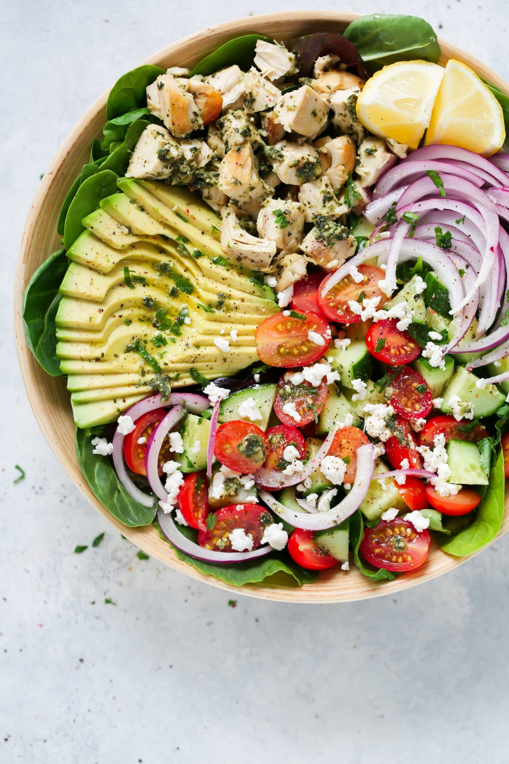 10 Super Easy Low-carb Salads For Lunch - Primavera Kitchen
