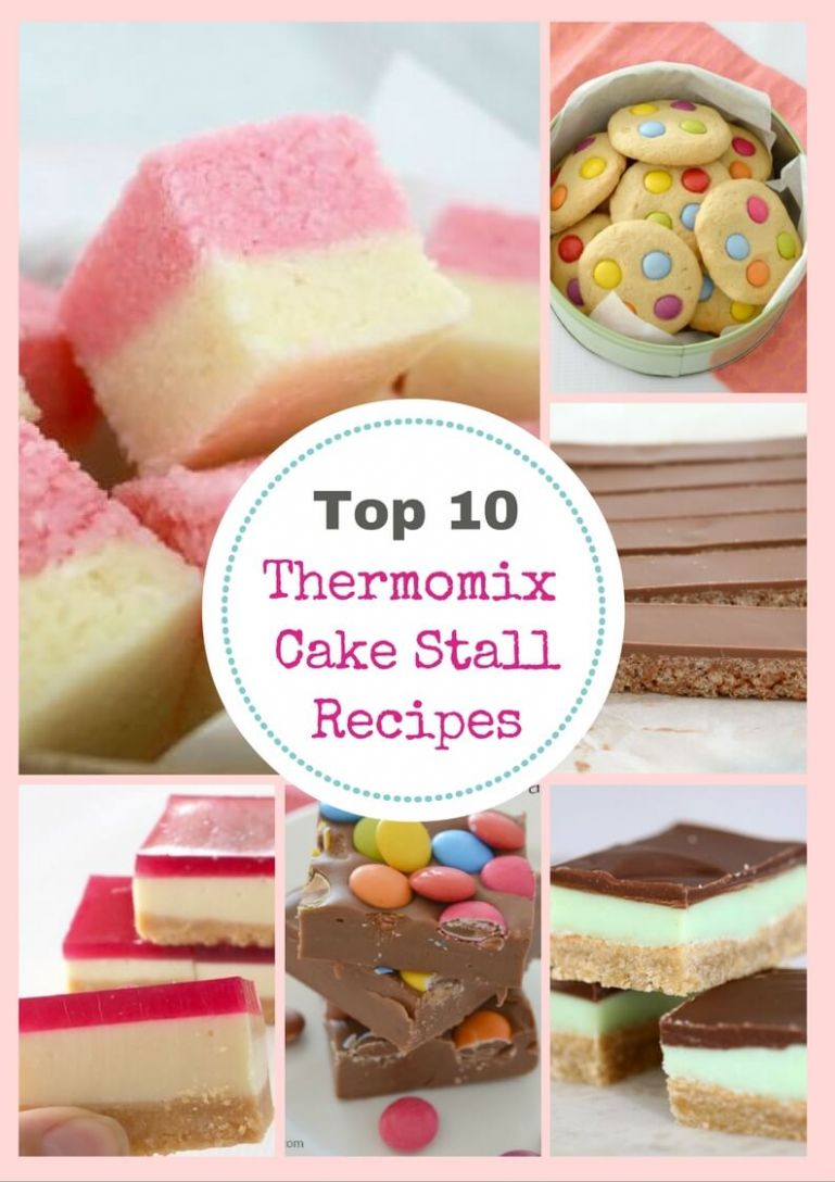10 Thermomix Cake Stall Classics - Thermobliss