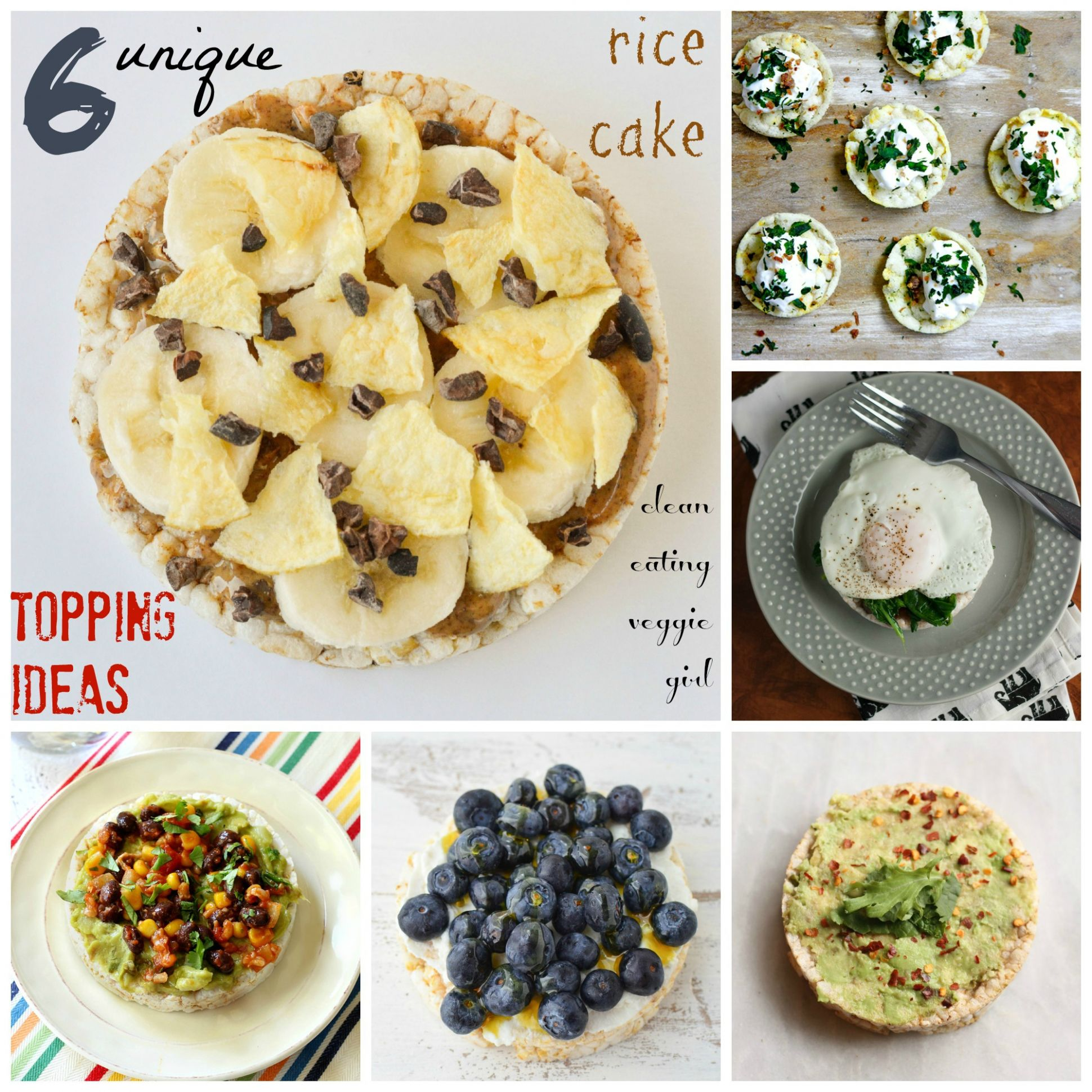 10 Unique Rice Cake Topping Ideas