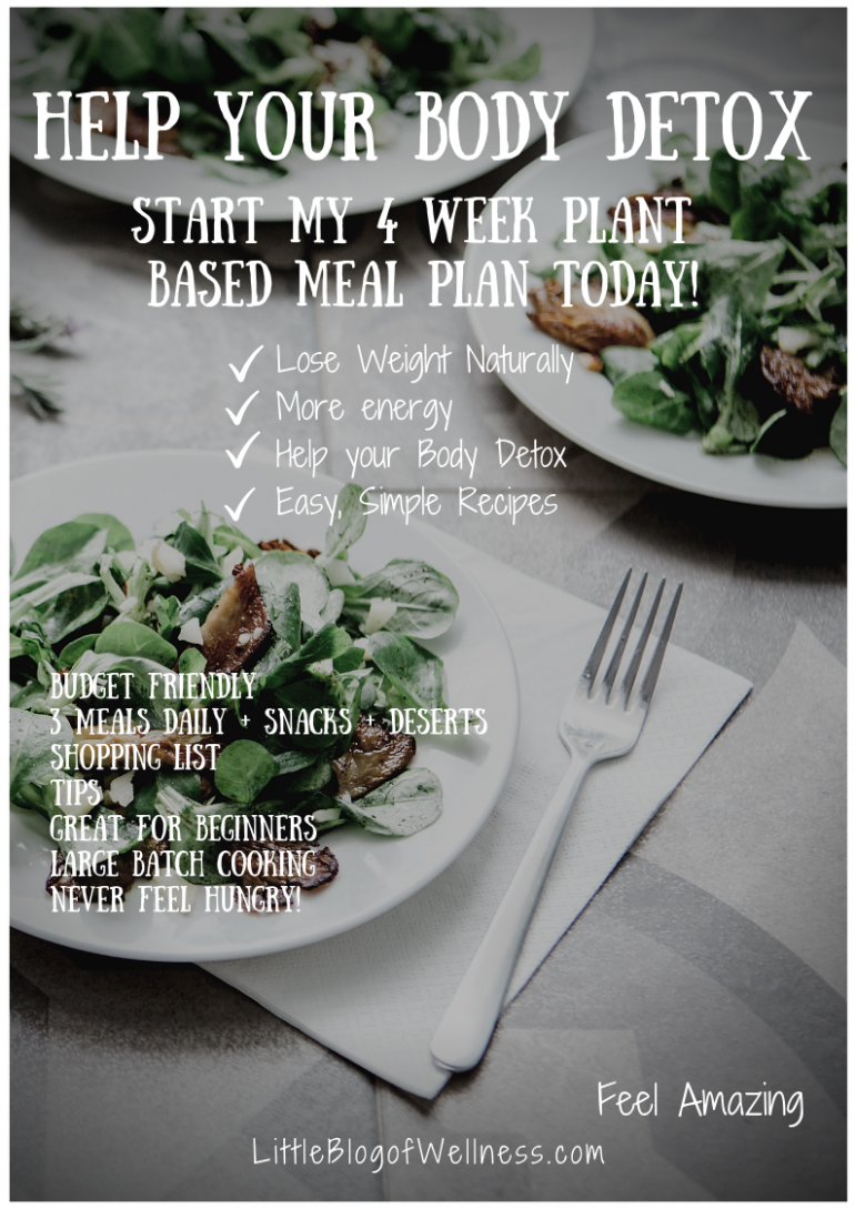 10 Week Vegan Meal Plan and Grocery List in a printable PDF ...
