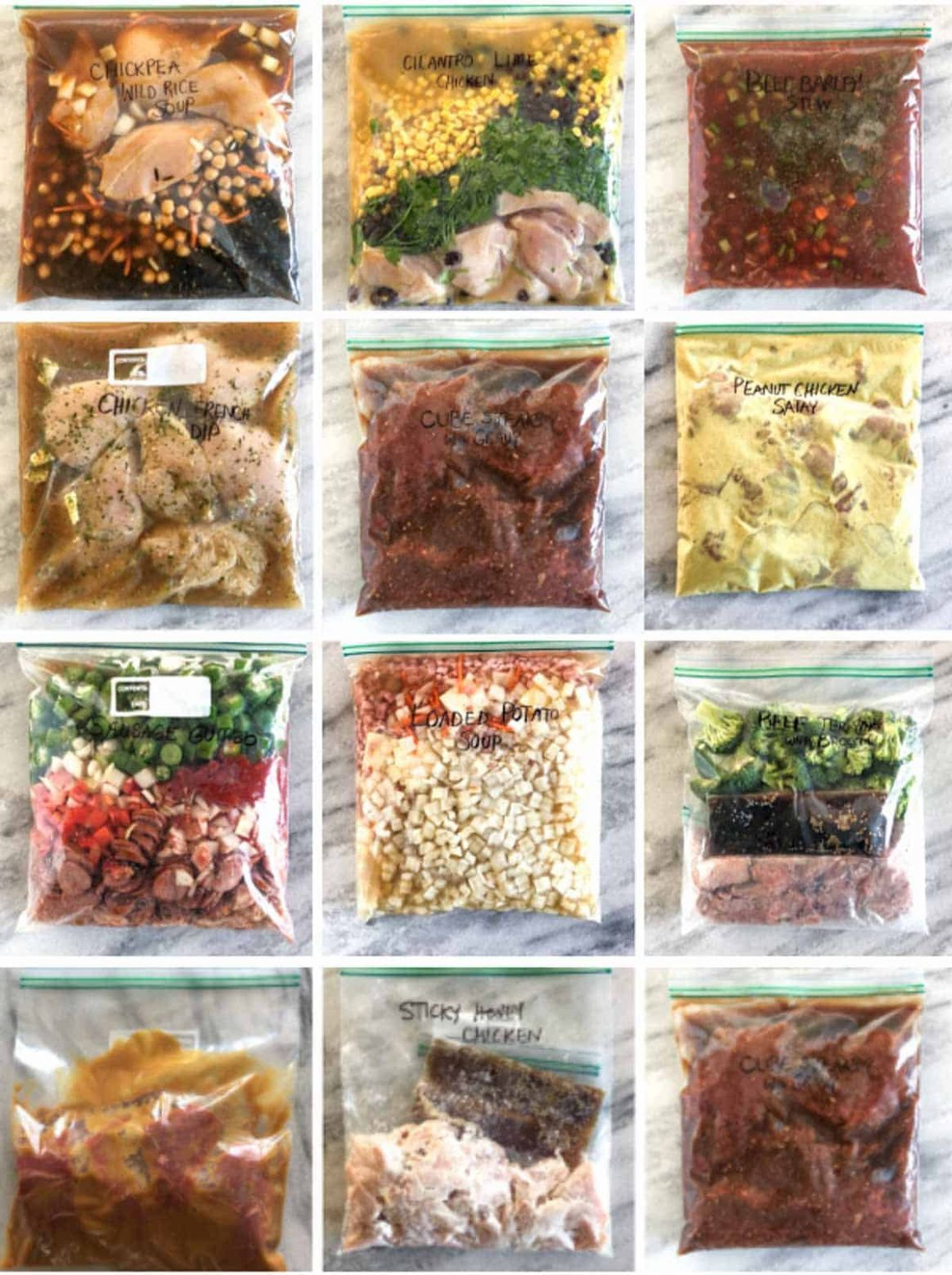 11 Actually Easy Freezer Meals (Seriously!) - HappyMoneySaver - Potato Recipes That Freeze Well