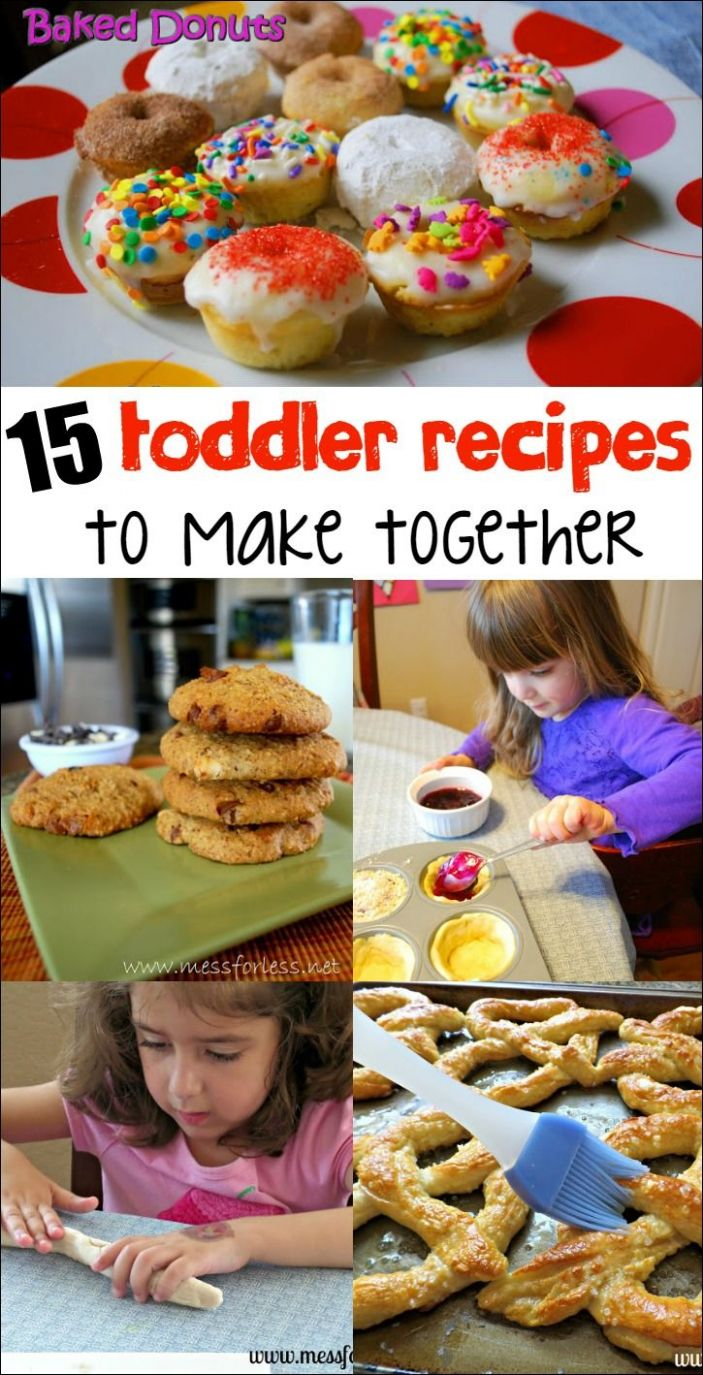 11 Amazing Recipes for Toddlers | Baking with kids, Cooking with ..
