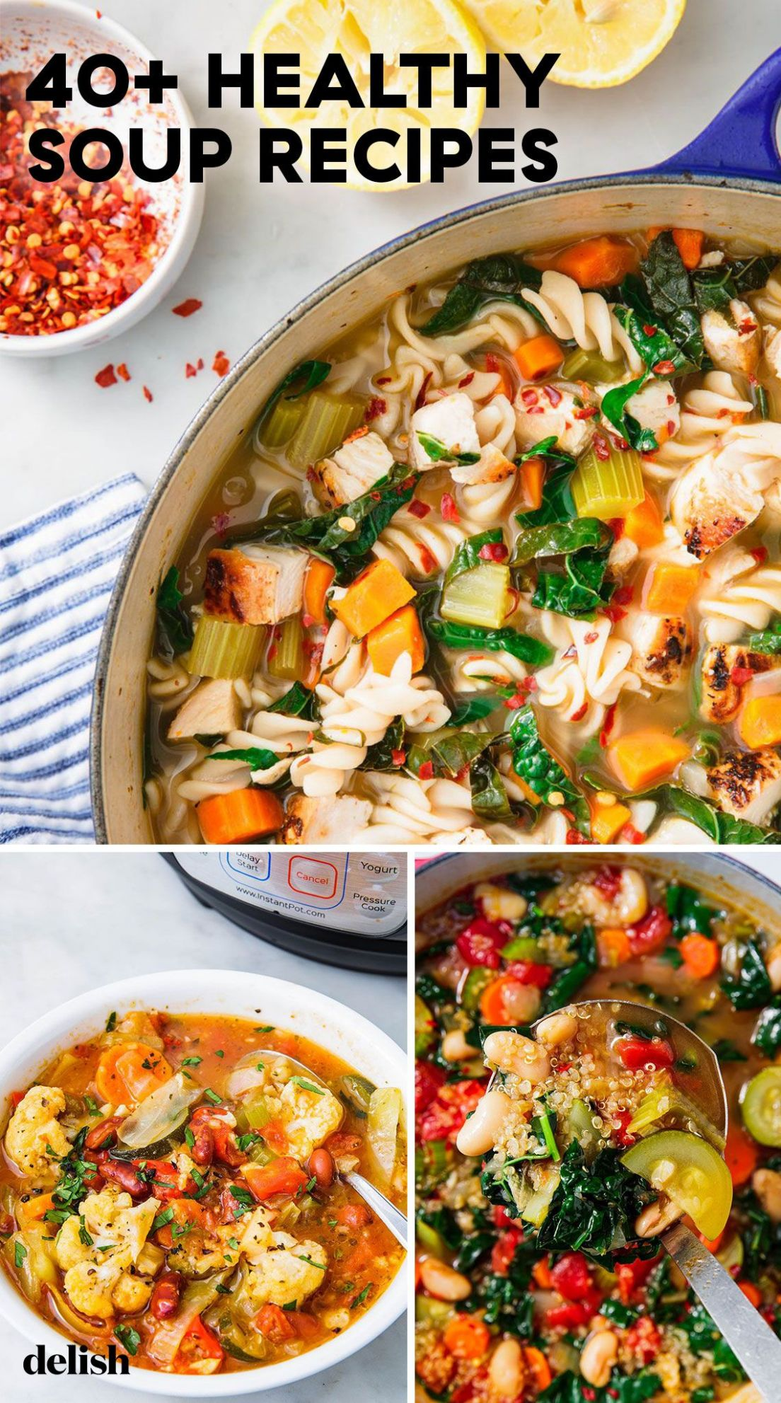 11+ Best Healthy Soup Recipes - Easy Ideas for Healthier Soups - Soup Recipes Easy Healthy