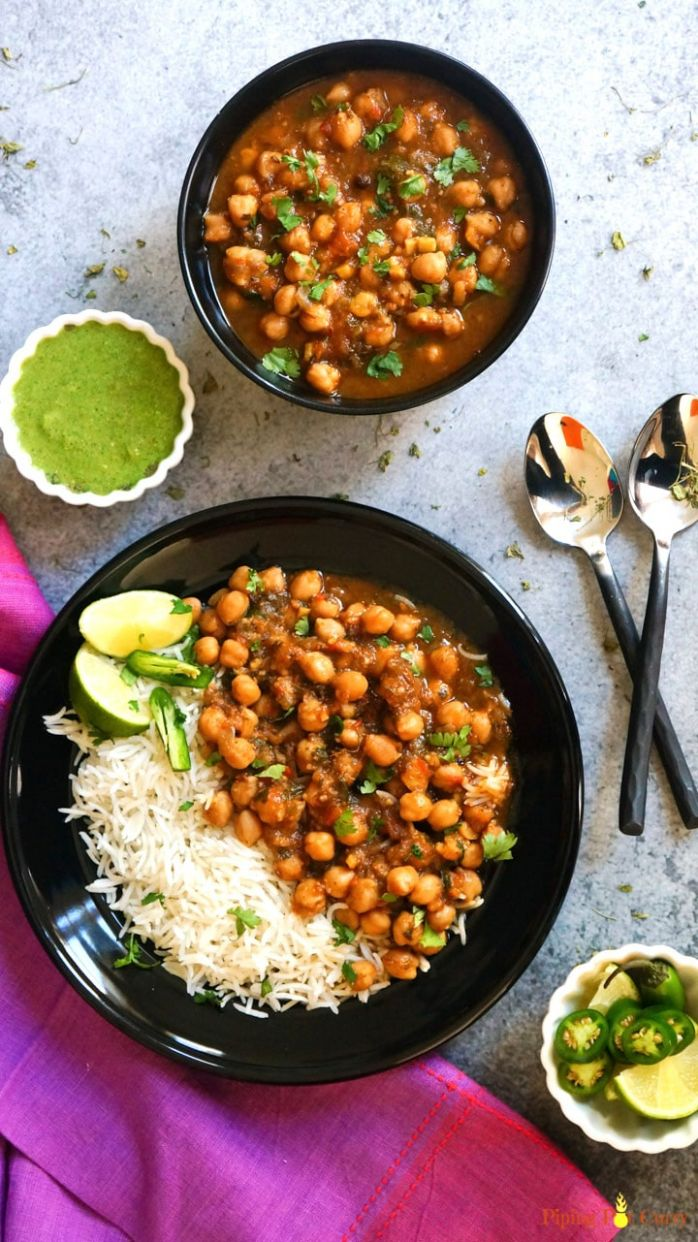11 Best Instant Pot Indian Vegetarian Recipes - Piping Pot Curry - Dinner Recipes Veg Indian