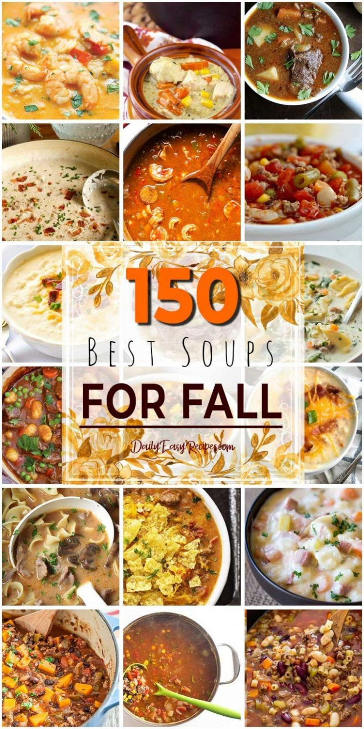 11 Best Soups For Fall – Daily Easy Recipes | Food, Healthy ...