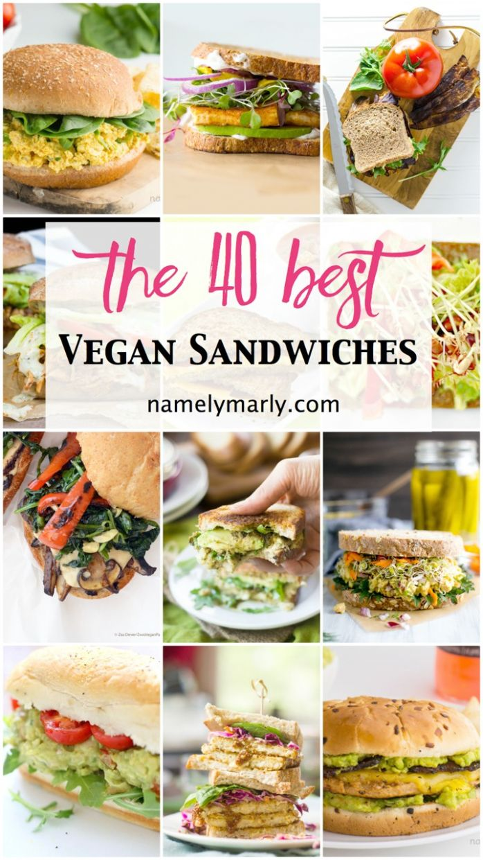 11 Best Vegan Sandwiches - Perfect for Easy Lunches - Namely Marly