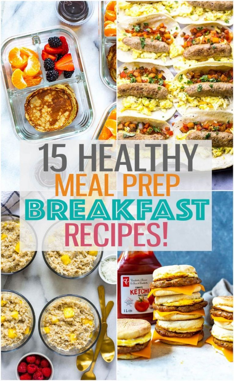 11 Breakfast Meal Prep Ideas for Busy Mornings! - The Girl on Bloor