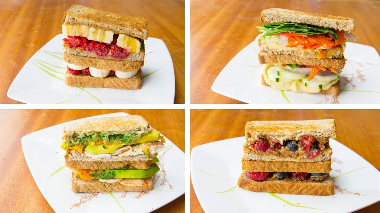 11 Delicious Sandwich Ideas Healthy Weight Loss Recipes - Sandwich Recipes Diet