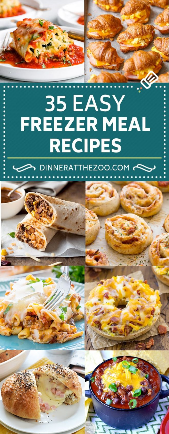 11 Easy Freezer Meal Recipes - Dinner at the Zoo