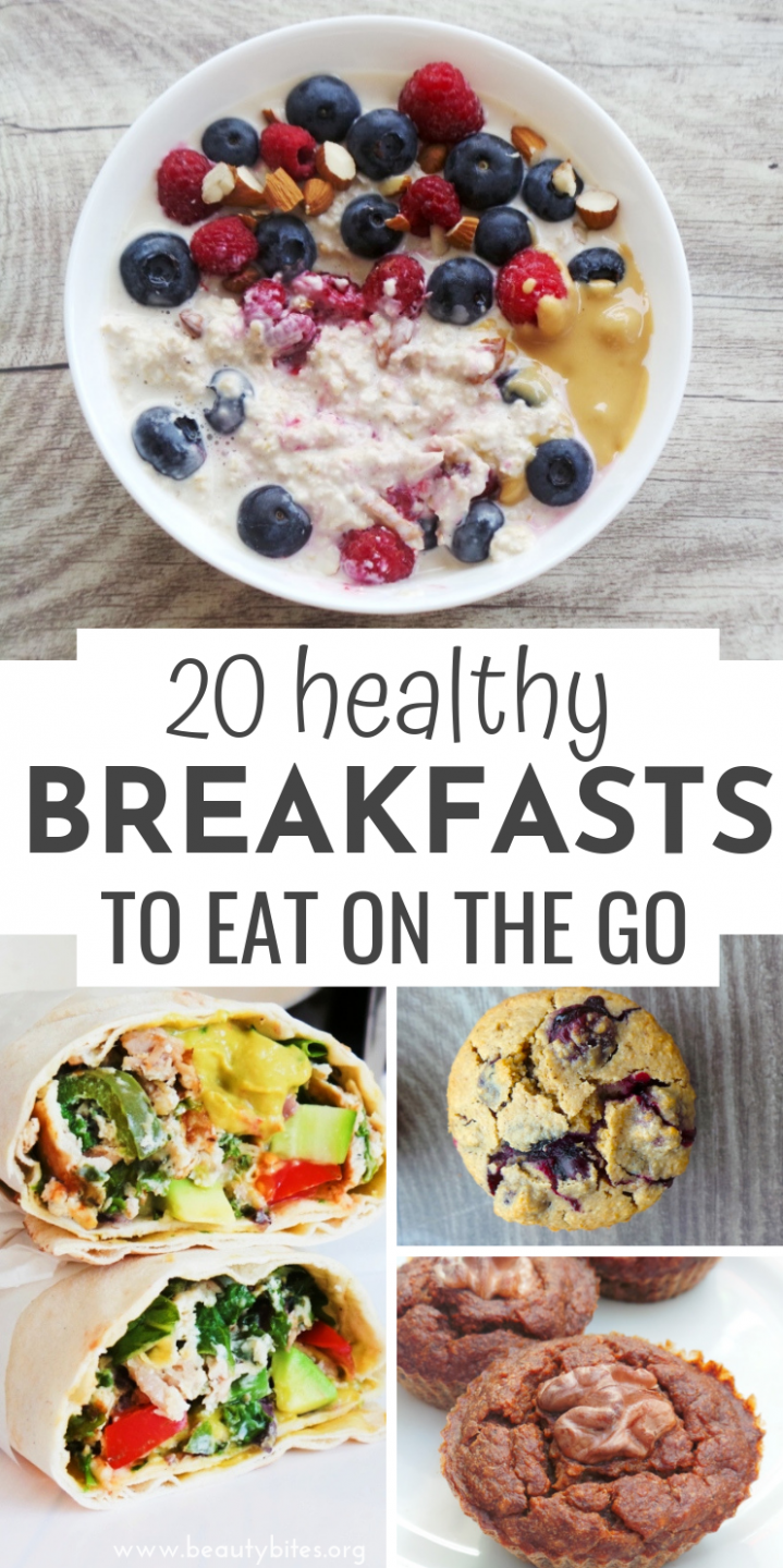 11 Easy Healthy Breakfast Recipes To Eat On The Go | Healthy ...