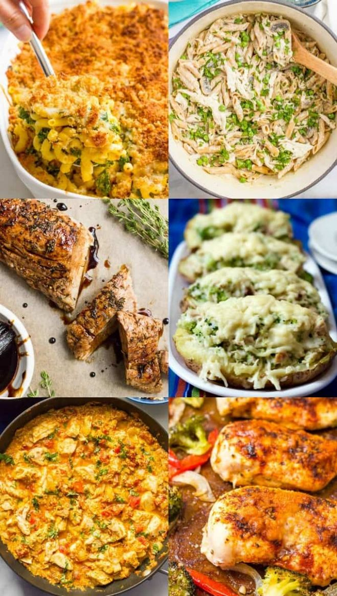 11 easy healthy family dinner ideas - Family Food on the Table