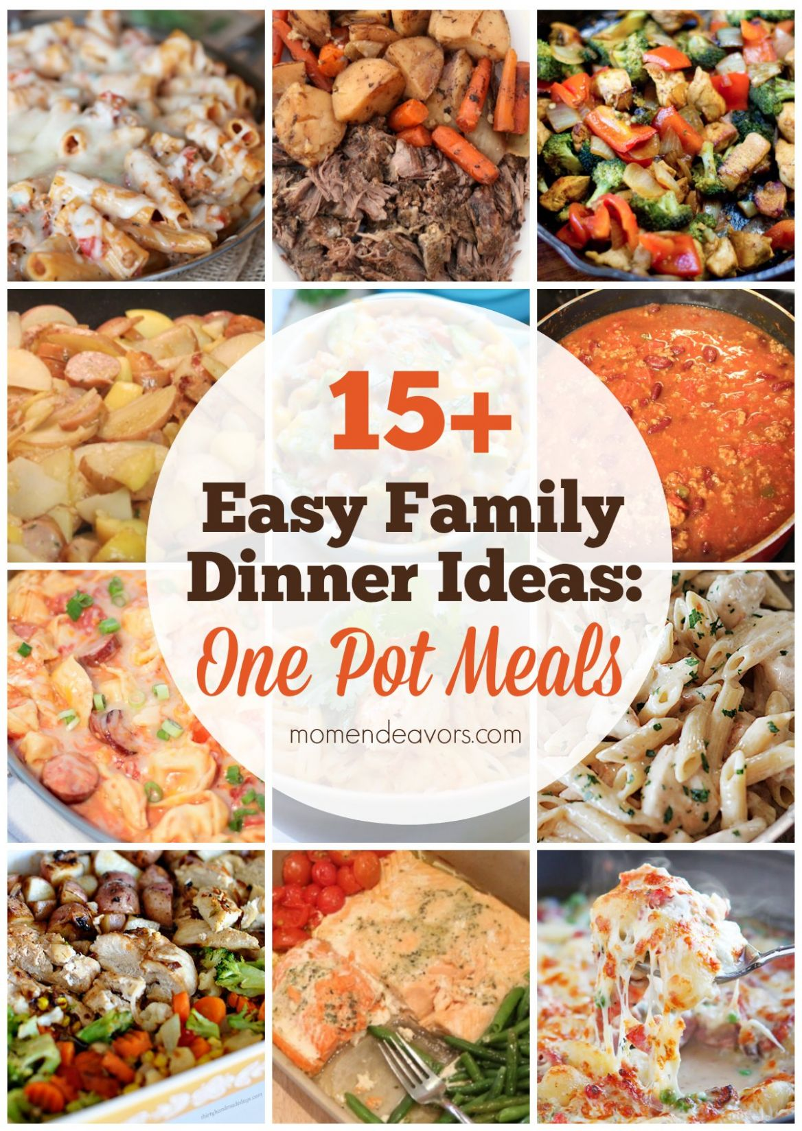 11+ Easy One Pot Family Dinners - Mom Endeavors