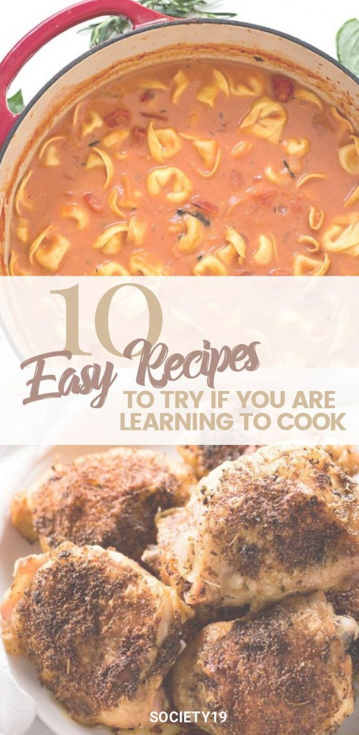 11 Easy Recipes To Try If You Are Learning How To Cook   Easy ...