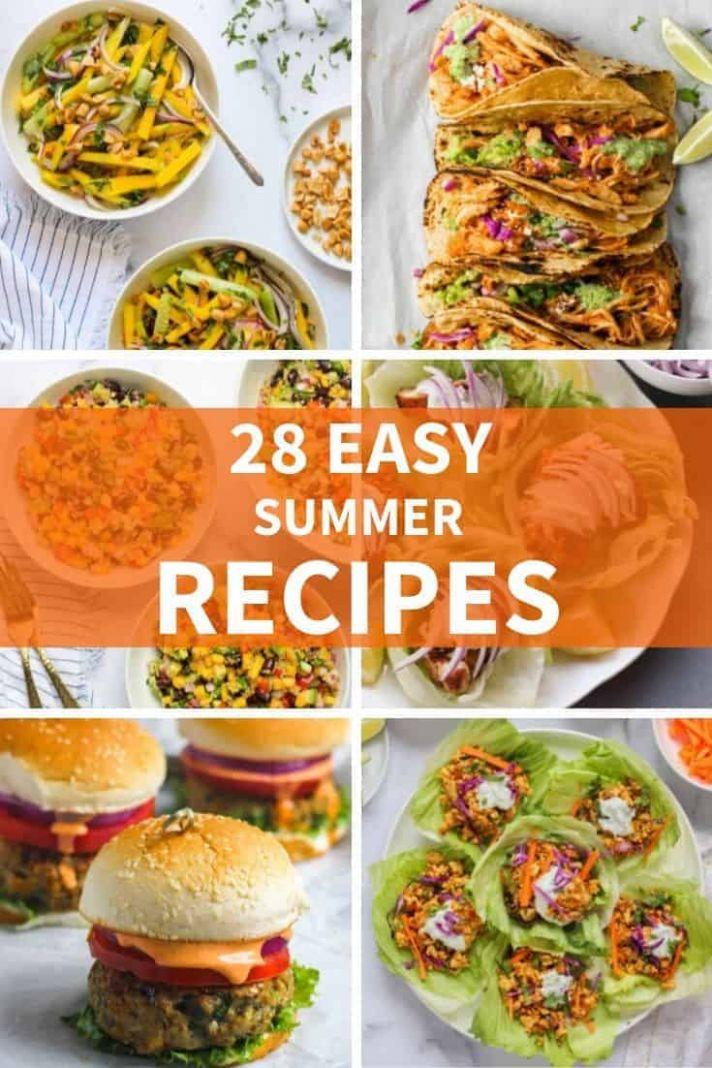11 EASY Summer Recipes - Ministry of Curry - Recipes Summer Easy