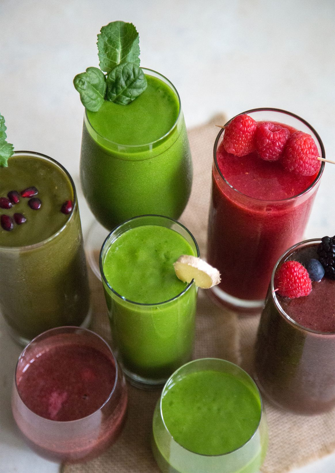 11 Fruit and Veggie Smoothies (A Week of Smoothies) - Blending Recipes Vegetable And Fruits