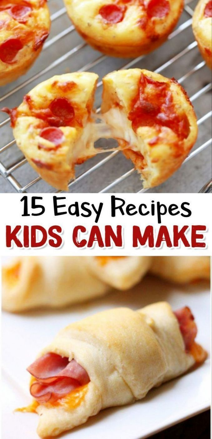 11 Fun & Easy Recipes for Kids To Make | Fun easy recipes, Easy ..