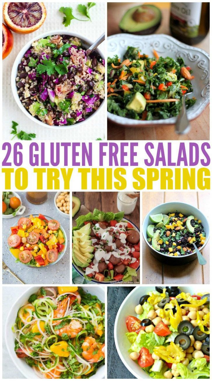 11 Gluten Free Salads to Try This Spring | Healthy recipes ..