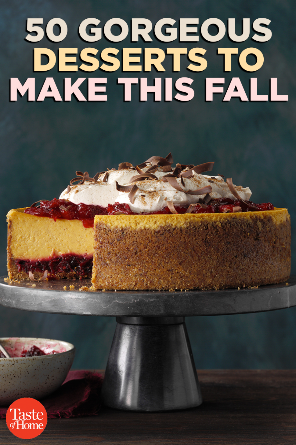 11 Gorgeous Desserts to Make This Fall | Desserts to make ...
