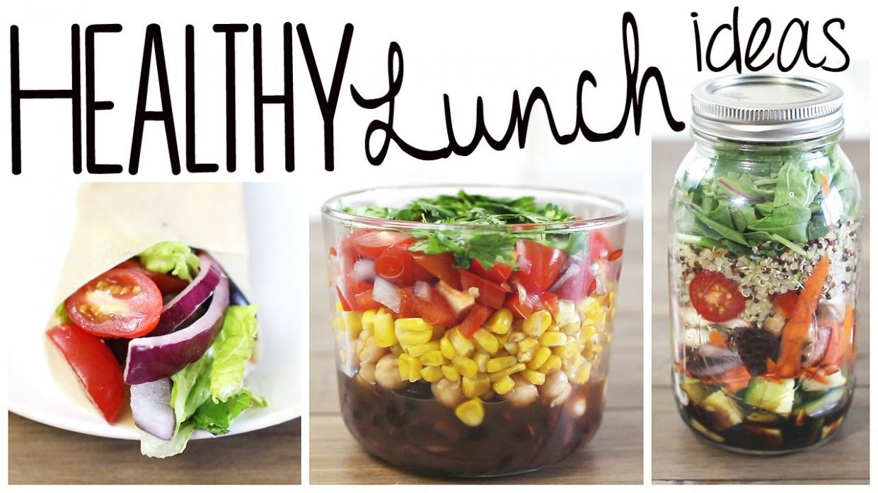 11 Healthy & Easy Lunch Recipes (Vegan & Gluten Free!)