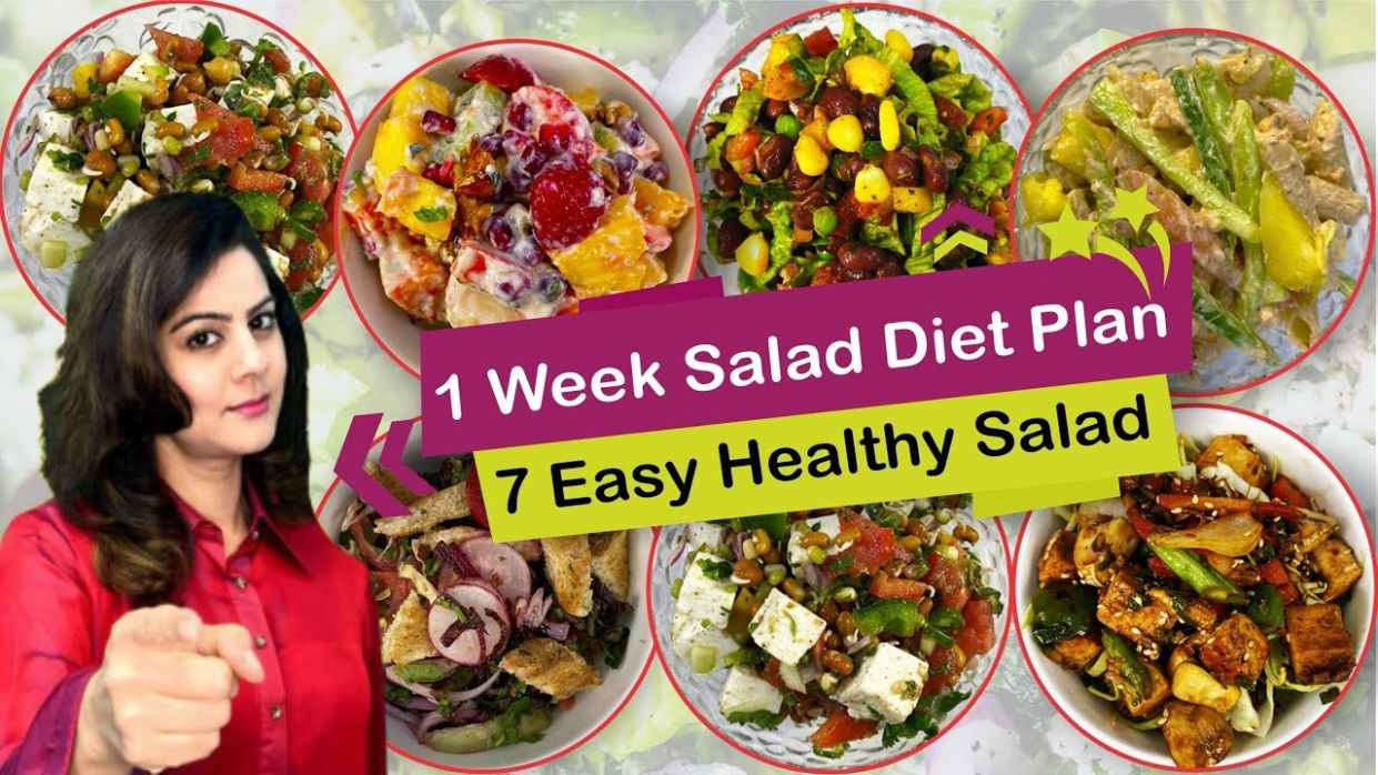 11 Healthy & Easy Salad Recipes for Weight Loss | Salad recipes in ..