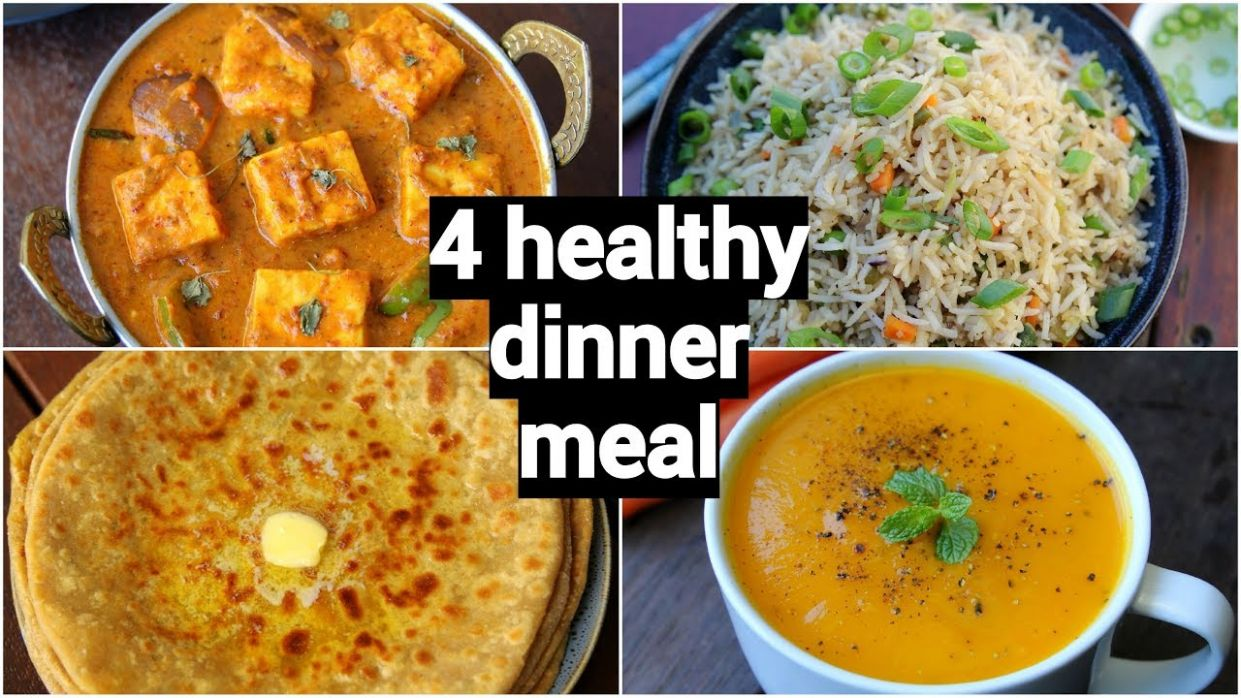 11 healthy & quick dinner recipes | easy dinner party recipe ideas | indian  dinner meal ideas - Dinner Recipes Hebbars Kitchen
