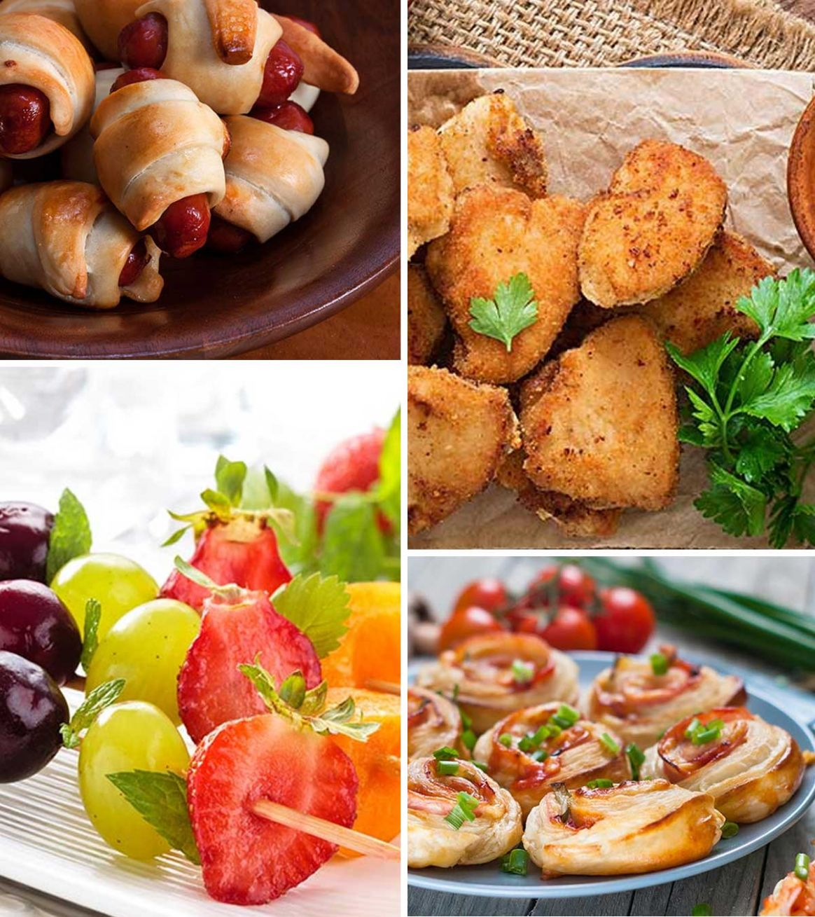11 Healthy And Easy Finger Foods For Kids - Simple Recipes Appetizers Finger Food