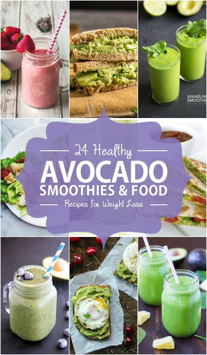 11 Healthy Avocado Smoothies and Food Recipes for Weight Loss - Smoothie Recipes For Weight Loss Lunch