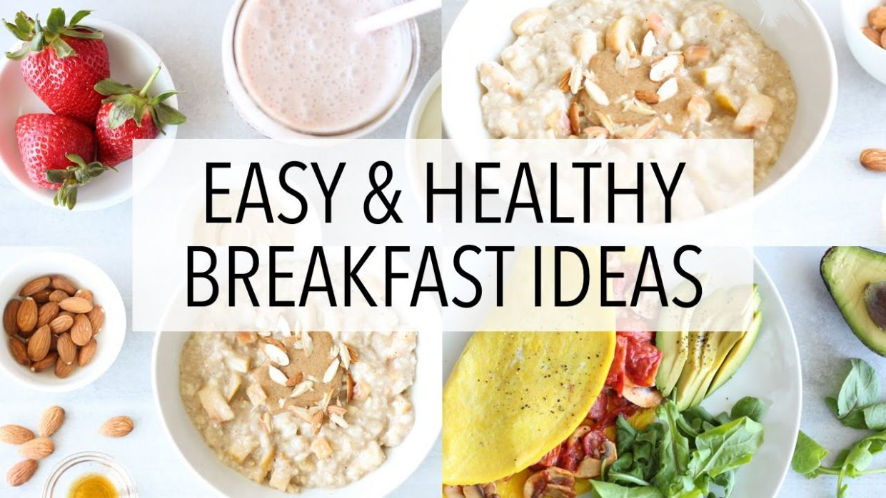 11 HEALTHY BREAKFAST IDEAS - Recipes For Weight Loss (+Gluten Free)