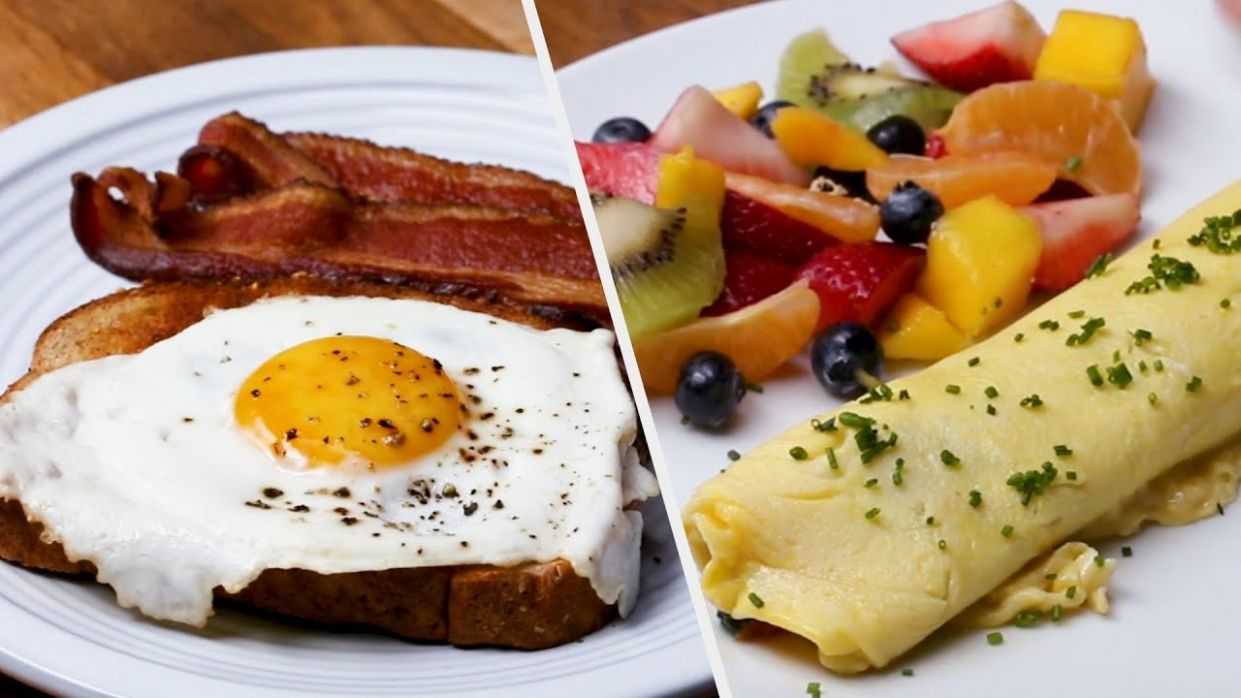 11 Healthy Breakfast Recipes To Keep You Fresh All Day • Tasty - Breakfast Recipes At Home