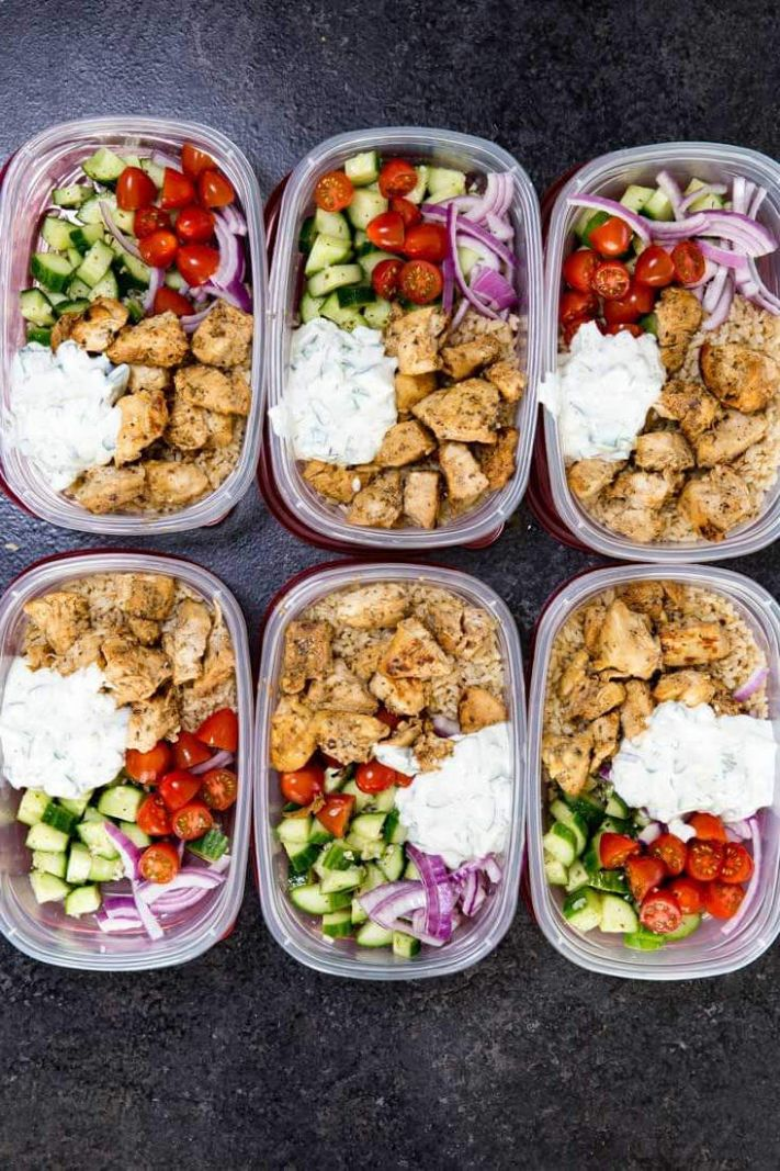 11 Healthy Dinners You Can Meal Prep on Sunday | The Everygirl - Healthy Recipes Meal Prep