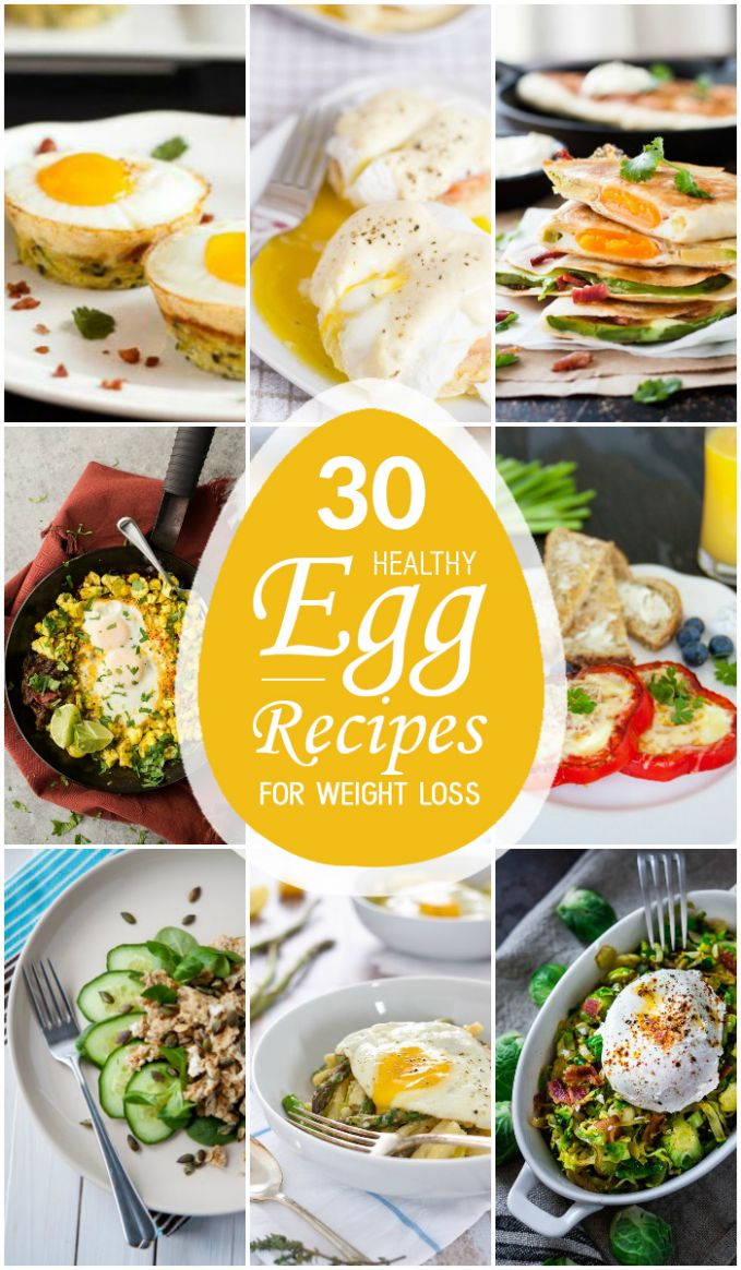 11 Healthy Egg Recipes for Weight Loss - Recipes For Weight Loss