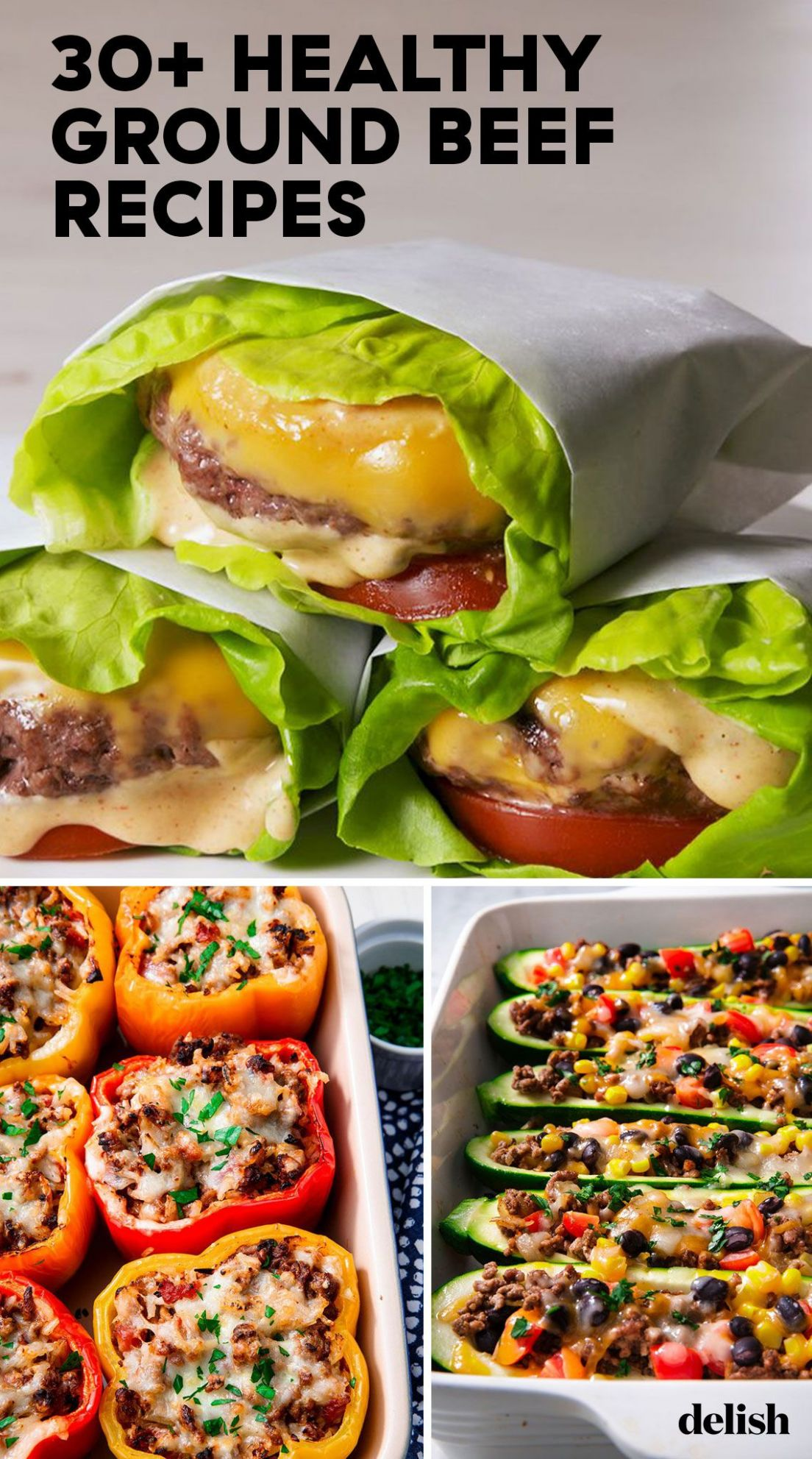 11+ Healthy Ground Beef Recipes - Easy Beef Healthy Ideas You'll Love