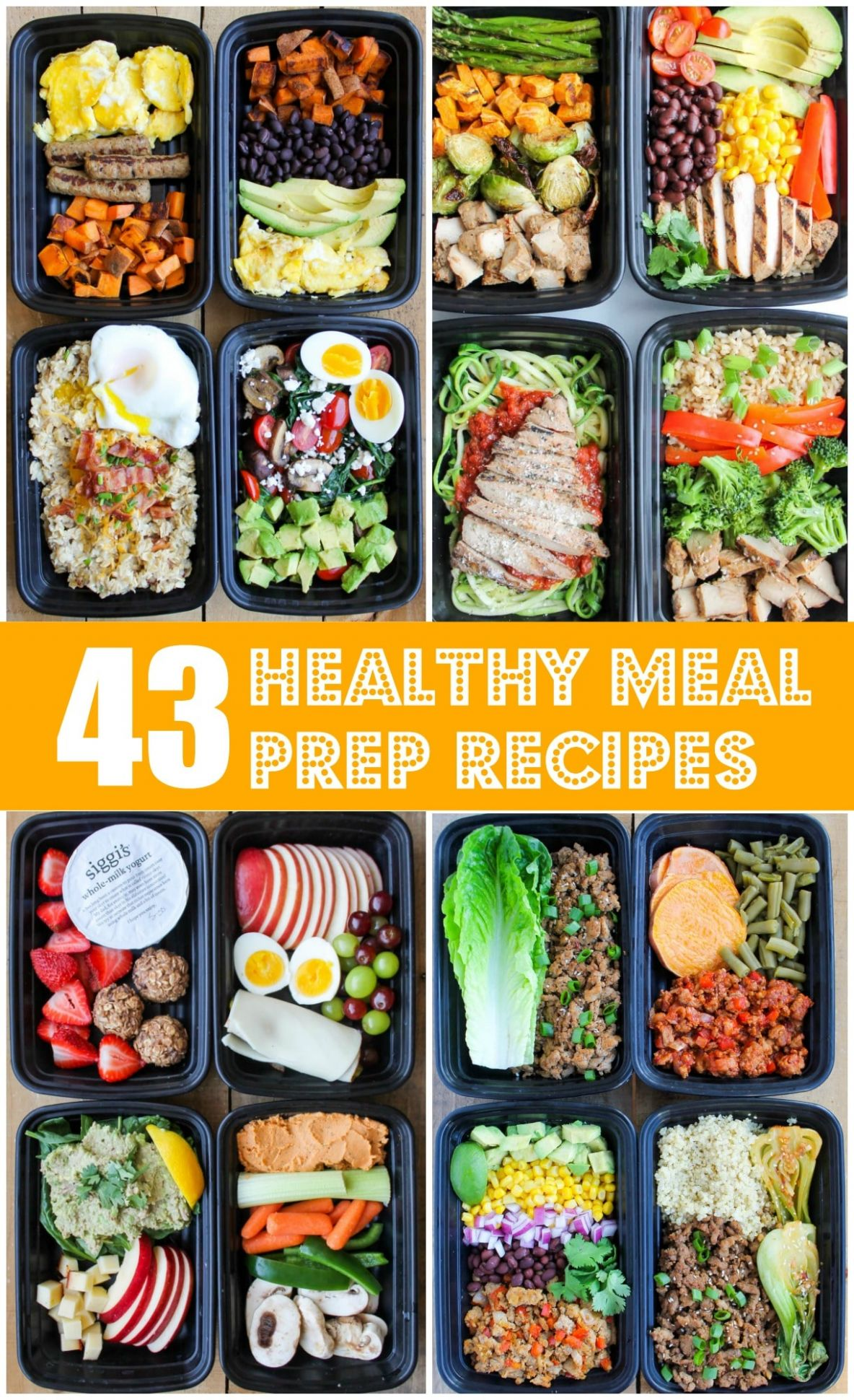 11 Healthy Meal Prep Recipes That'll Make Your Life Easier - Smile ...