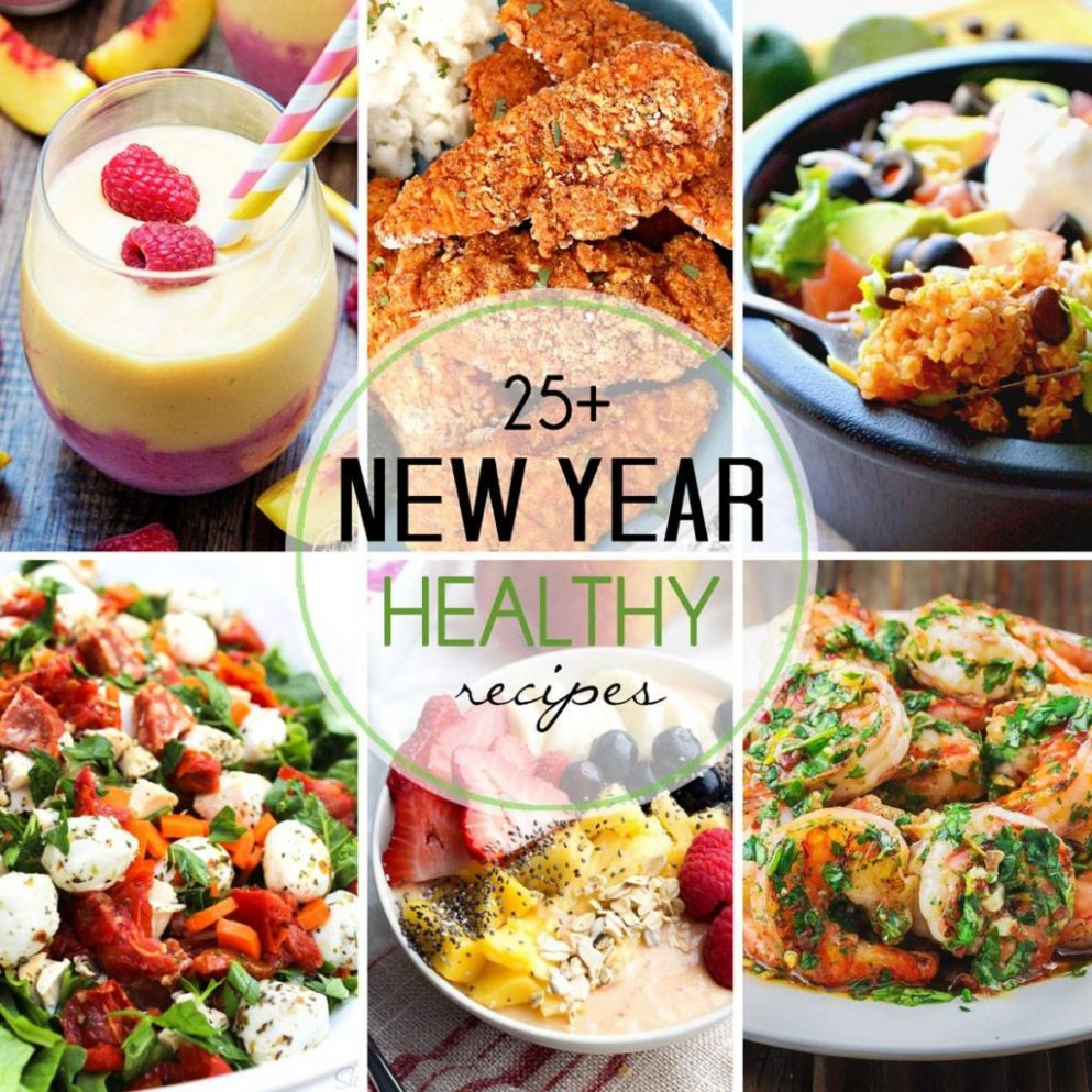 11+ Healthy New Year's Resolution Recipes • Domestic Superhero