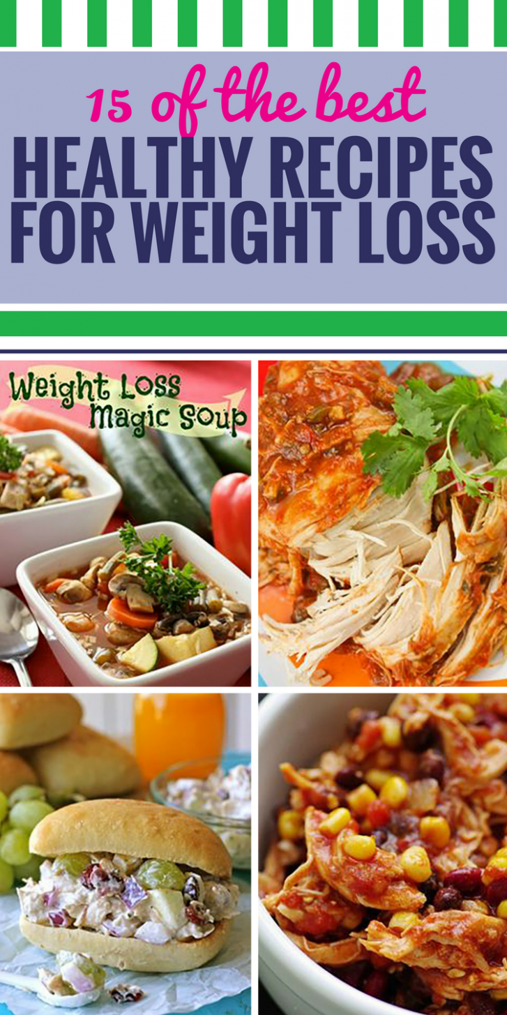 11 Healthy Recipes for Weight Loss - My Life and Kids