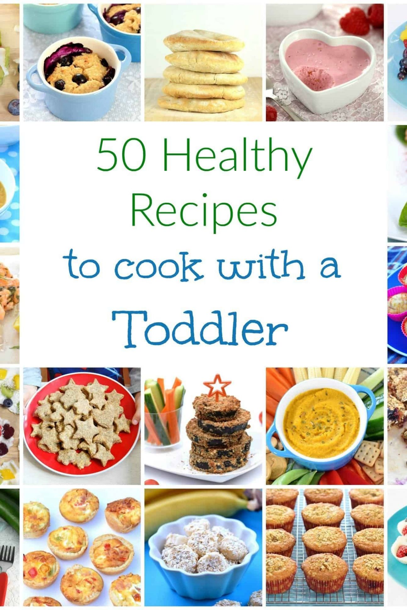 11 Healthy Recipes to Cook with Toddlers | Kids cooking recipes ..