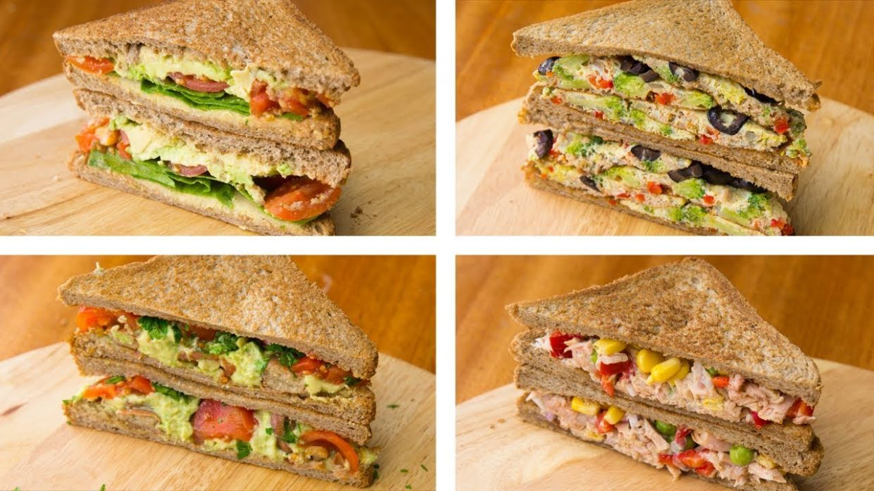 11 Healthy Sandwich Recipes For Weight Loss | Healthy Lunch Ideas - Sandwich Recipes Diet