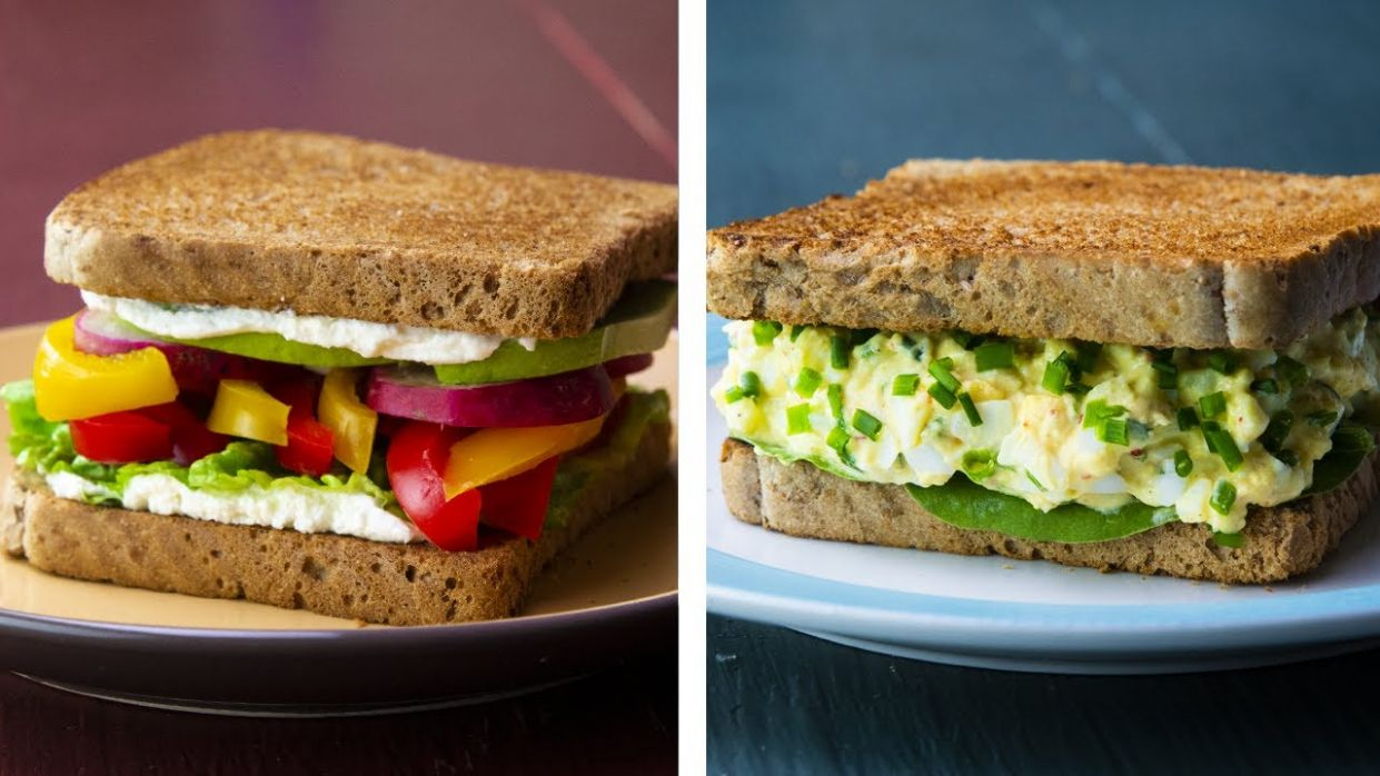 11 Healthy Sandwich Recipes For Weight Loss - Sandwich Recipes Diet