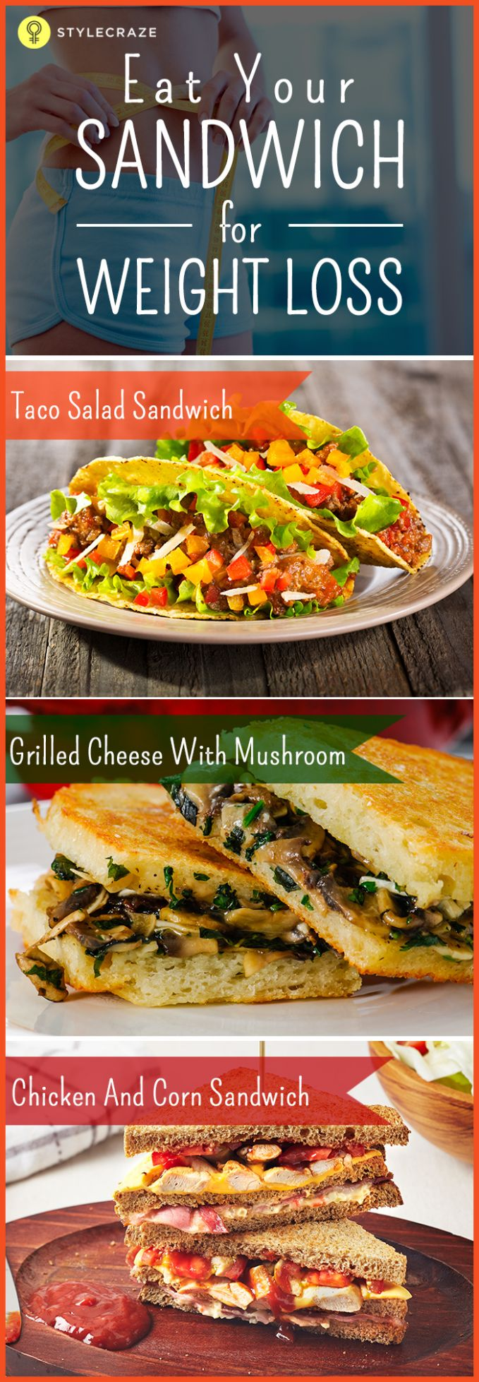 11 Healthy Sandwiches To Help You Lose Weight - Recipes For Weight Loss Philippines
