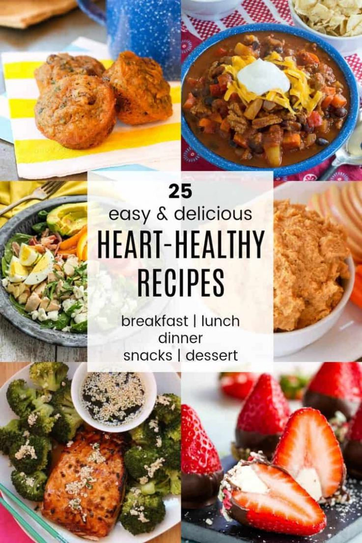 11 Heart-Healthy Recipes - Easy Meals for Heart Health - Cupcakes ...