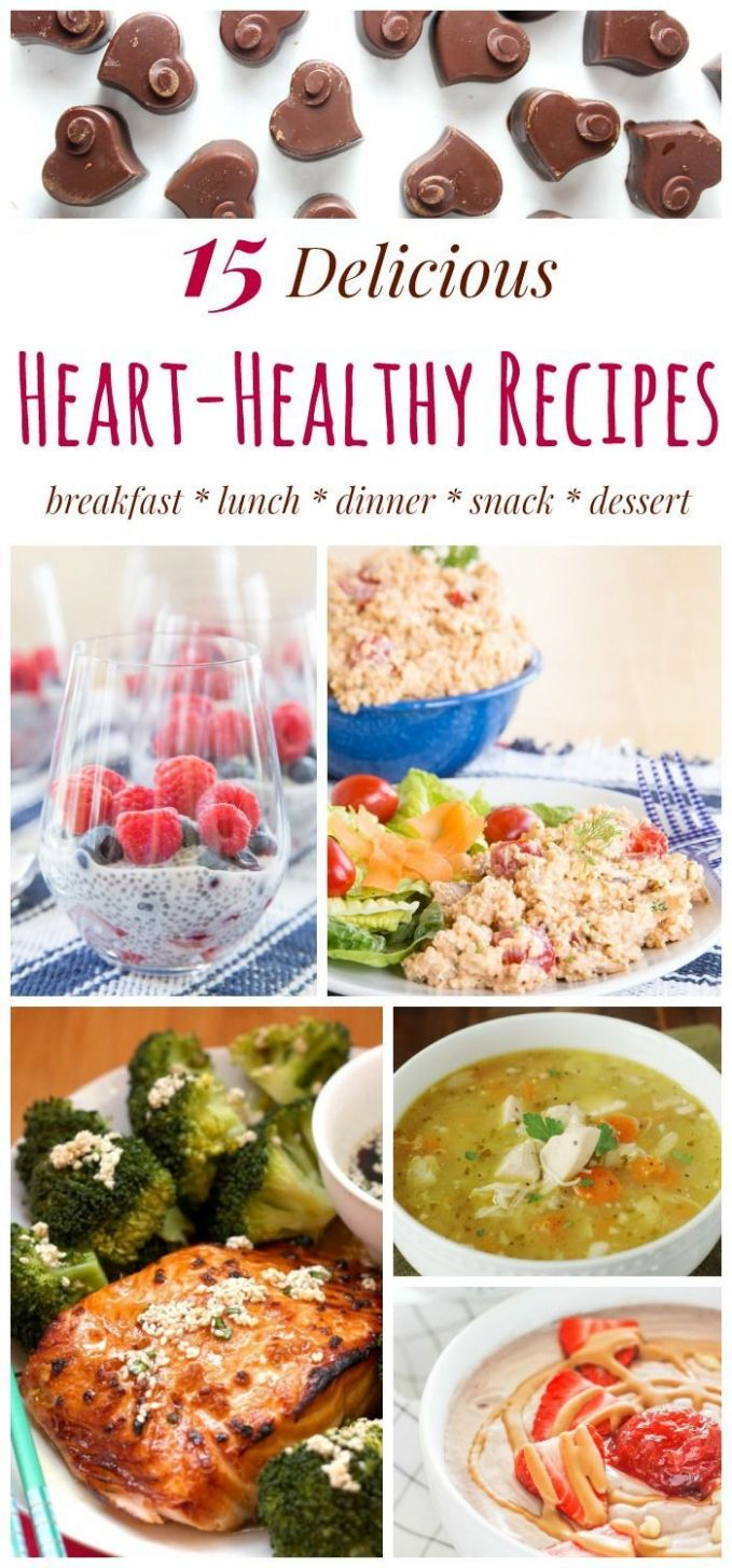 11 Heart-Healthy Recipes - Easy Meals for Heart Health | Healthy ...