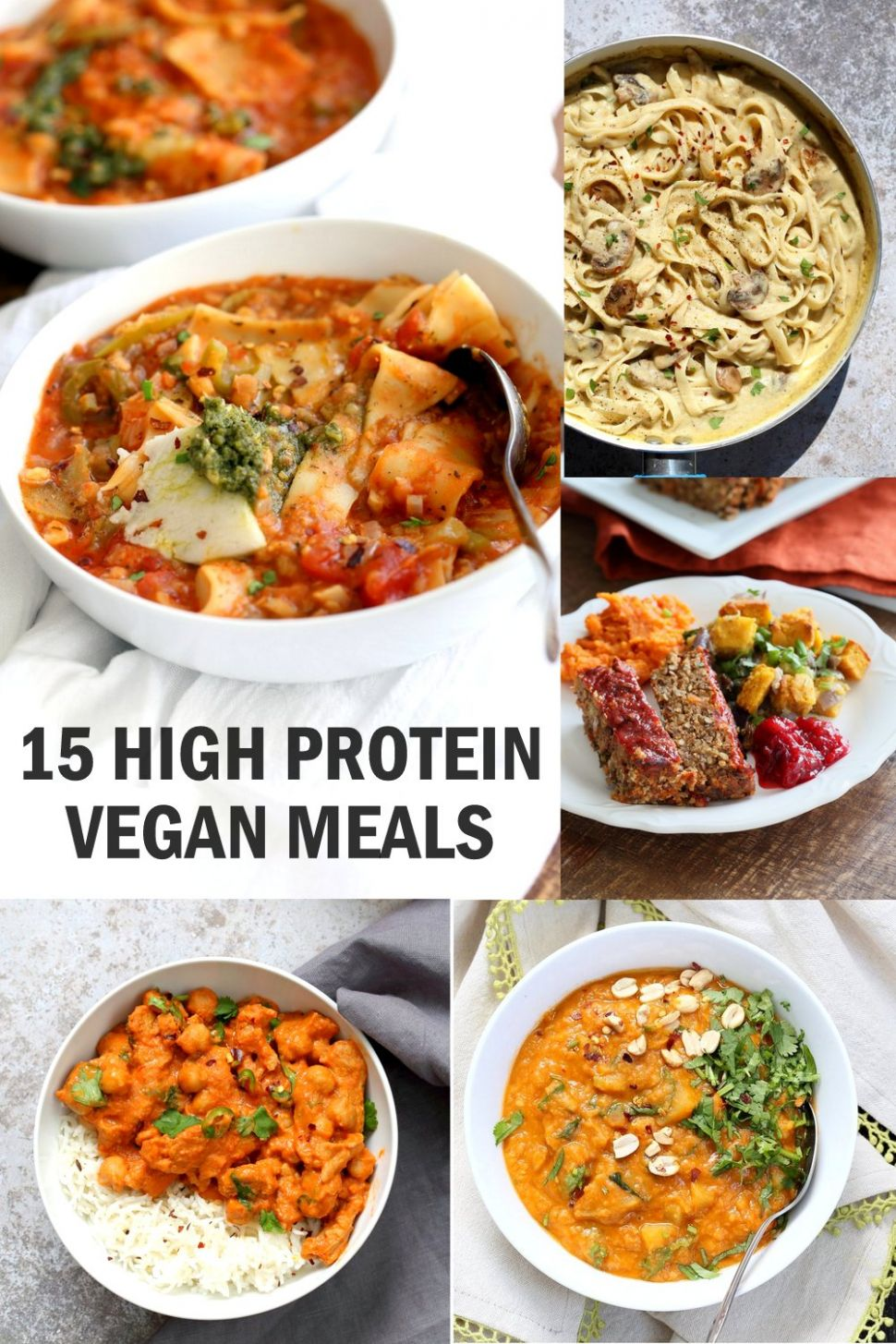 11 High Protein Vegan Meals - Vegan Richa - Recipes Vegetable Protein