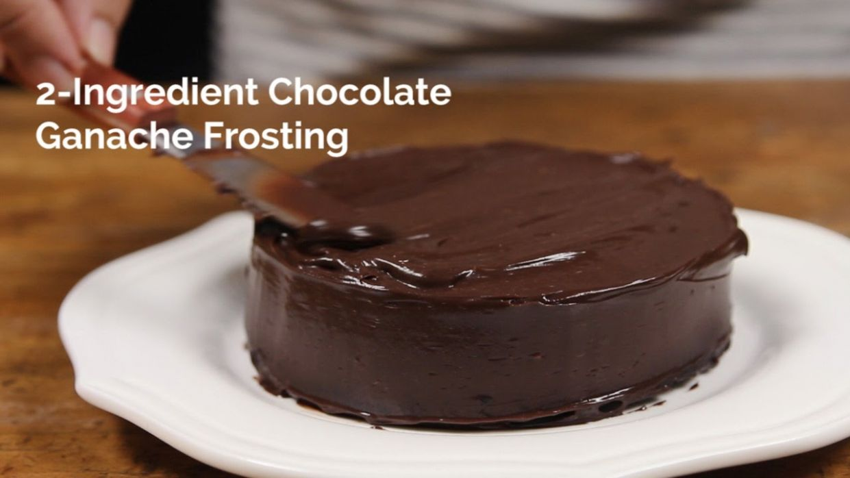 11-Ingredient Chocolate Ganache Frosting | Yummy Ph - Recipe Chocolate Ganache Icing