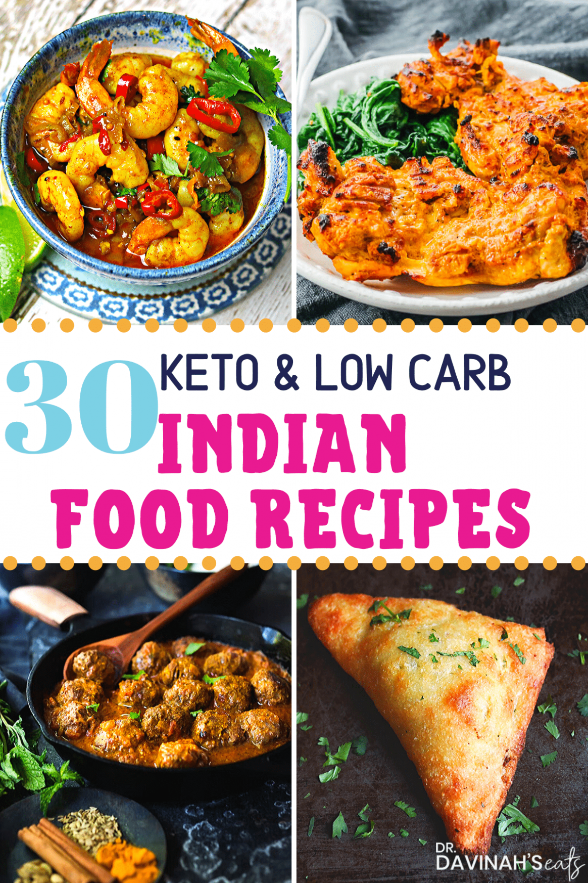 11 Keto Indian Food Recipes Including Samosas! | Dr