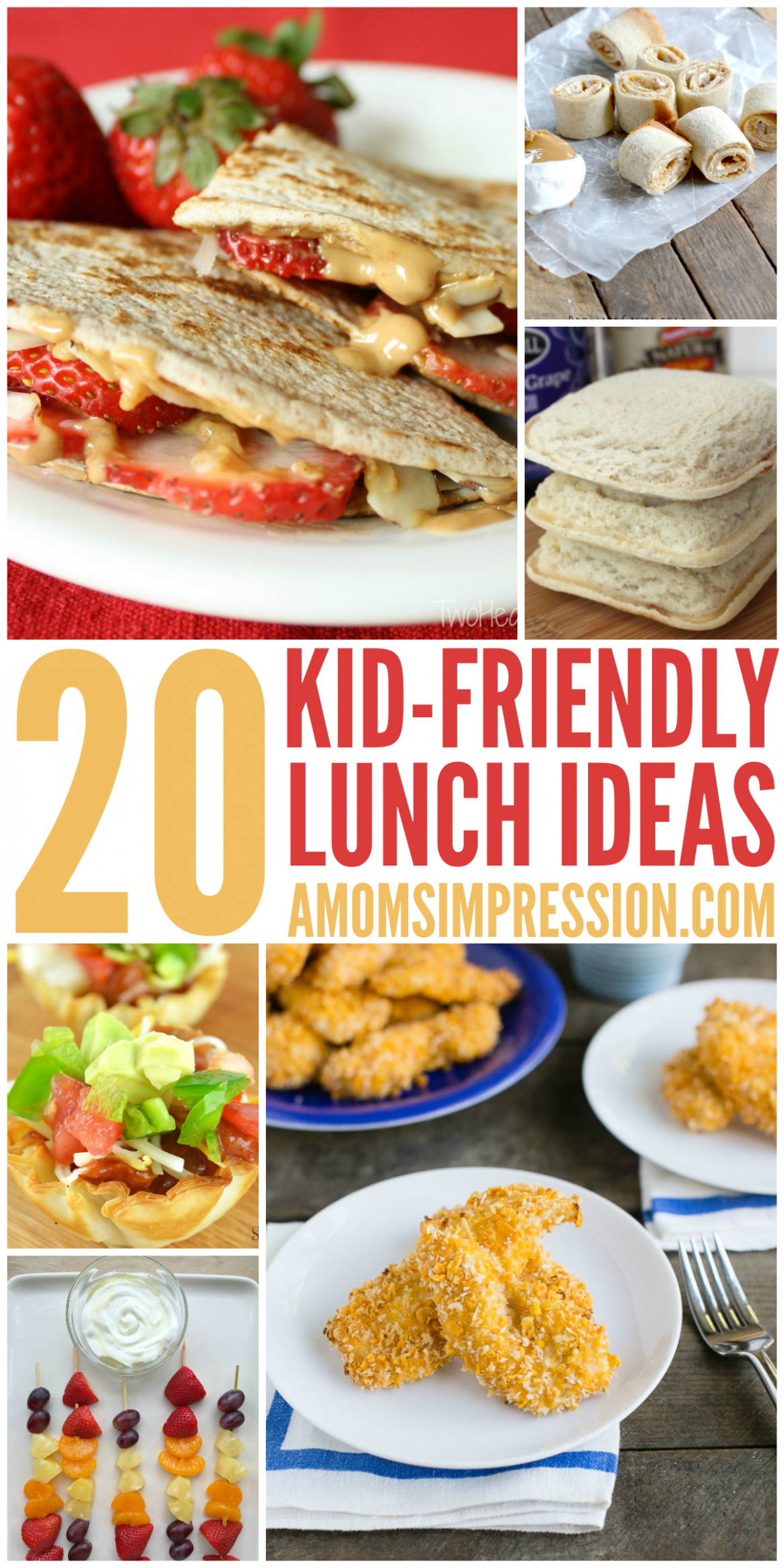 11 kid friendly lunches - a healthy recipe ideas for Back to ...