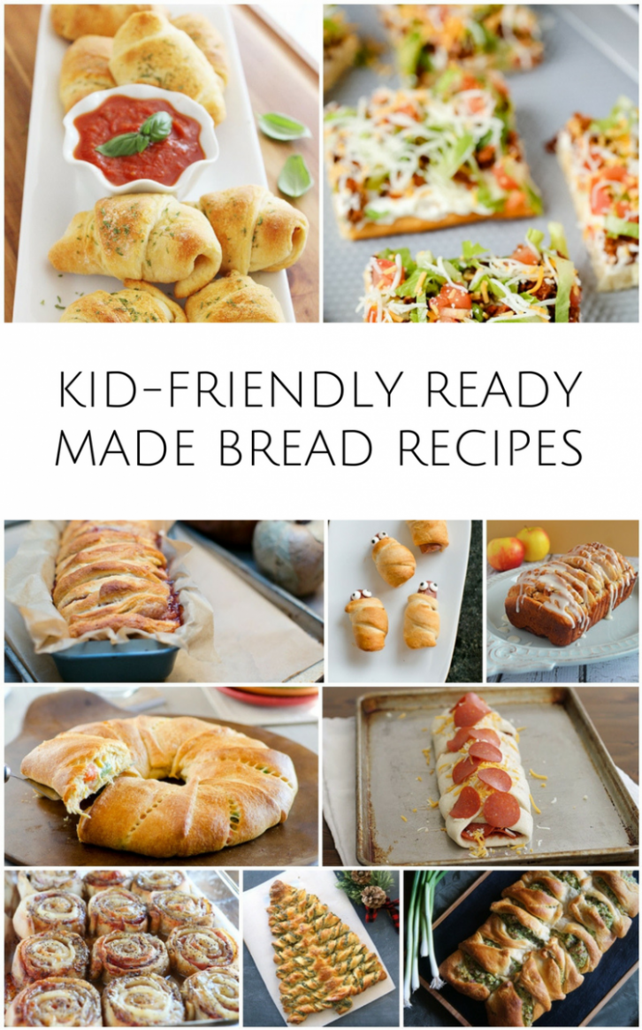 11 KID-FRIENDLY RECIPES USING READY MADE BREAD DOUGH | Food ...